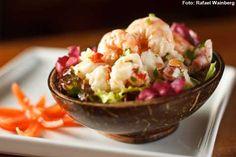 Siri Mole - Saladinha de frutos do mar (jantar)