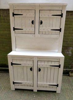 Pallet Kitchen Cabinets / #Hutch | 99 Pallets