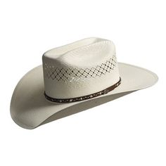 87021ad197b Bailey Jolson 7x Shantung Straw Cowboy Hat - Mustang Crown (For Men)