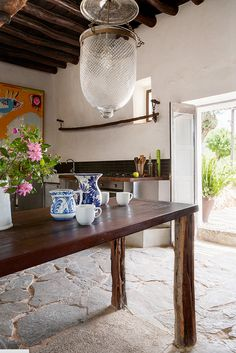 A 400 YEAR OLD HOME ON THE ISLAND OF IBIZA