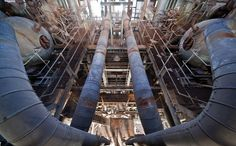 Image: Foantje 5. Unnamed Power Plant, France These twin snaking tubes look as much like sculpture as they do machinery parts. The abandoned station in these pictures is in France, where nowadays most of the country's energy needs are met by nuclear power. That said, in the wake of the 2011 Fukushima Daiichi nuclear disaster ...