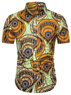 Mens Shirts Online, Men Shirts, Detachable Collar, Sweet Dress, Summer Shirts, One Piece Swimwear, Fast Fashion, Fashion Prints, Types Of Sleeves