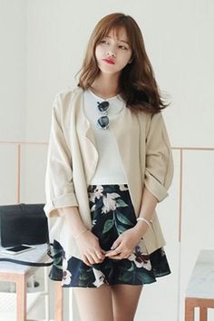 Appletree Jacket   Korean Fashion