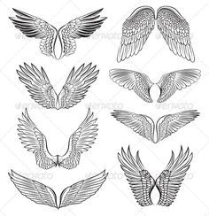 Eagle wings, for logo idea
