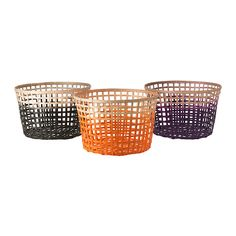 IKEA - GADDIS, Basket, assorted colours, 50 cm, , Each basket is woven by hand and is therefore unique.