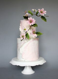 Endless cake decorating inspiration - wedding cakes, birthday cakes for boys and girls, cookies, cupcakes and more. Beautiful Wedding Cakes, Gorgeous Cakes, Pretty Cakes, Fondant Cakes, Cupcake Cakes, Cupcakes, Wedding Cake Designs, Wedding Themes, Wedding Colors
