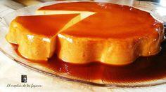 ¿Has visto que aspecto tan irresistible tiene este pastel de caramelo y naranja que comparten desde el blog EL CREPITAR DE LOS FOGONES? Cake Flan, Pudding Desserts, Fruit, Cheesecakes, Yummy Cakes, Deli, Deserts, Food And Drink, Dinner