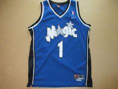 Tracy Mcgrady Orlando Magic Nike Swingman Jersey Medium Sewn from $89.99