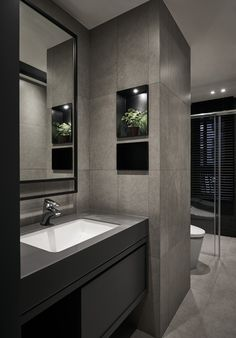 Bathroom Vanities and Bathroom Floor Plans – Bathroom Design Washroom Design, Toilet Design, Modern Bathroom Design, Bathroom Interior Design, Bathroom Trends, Bathroom Renovations, Remodel Bathroom, Bathroom Ideas, Budget Bathroom