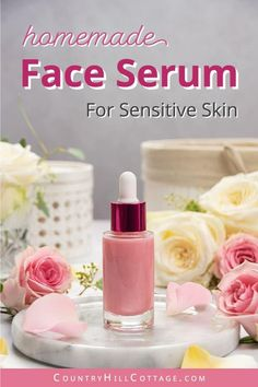 Serum For Dry Skin, Dry Skin On Face, Skin Serum, Diy Face Scrub, Diy Beauté, Natural Facial, Natural Beauty, Dry Skin Remedies, Diy Skin Care