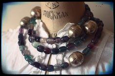 fluorite, beads