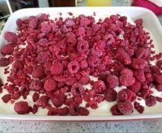 Windbeutel-Himbeer-Dessert **köstlich** 》geht sicher auch mit normalem Mixer ☺