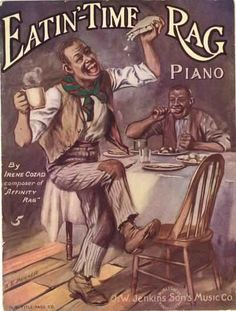 Eatin' Time Rag. Irene Cozad. Kansas City, MO: J.W. Jenkins, 1913