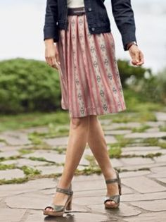 FLOUNCE SKIRT in Late Spring 2013 from Pendleton on shop.CatalogSpree.com, my personal digital mall.