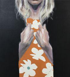 "Petri Niemelä: ""Pitch Black"" (oil on canvas) Black Oil, Pitch, Oil On Canvas, Modern Art, Painting, Painting Art, Paintings, Contemporary Art, Painted Canvas"