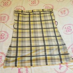 SALE!!! Plaid Clueless style tube top Plaid can be worn with belt or without. Belt not included. Great for clueless theme outfit or with jeans and leggings. Rave Tops