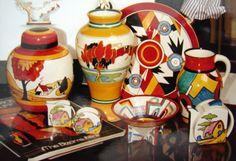 Clarice Cliff ceramics