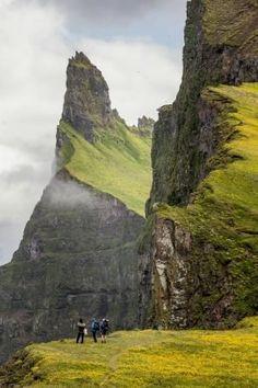 The Hornstrandir Nature reserve in Iceland.