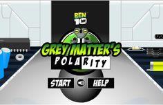 Ben 10 Grey Matters Polarity game online