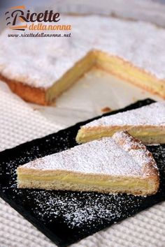 Tart with yoghurt custard filling. (Delicious!)