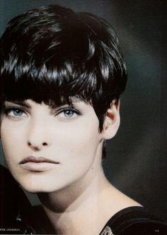 short haircut linda evangelista - Pesquisa Google