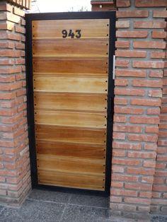 Rejas portones de madera portones pinterest - Rejas de madera ...