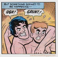 The top 100 strangest, suggestive and steamy vintage comic book panels of all time!