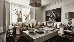 London: A modern townhome in neutral luxury — The Decorista