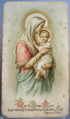 """That the Virgin Mary will obtain for us the blessing of her divine Son."""
