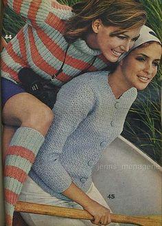 Vintage knitting patterns by vintagemode, via Flickr
