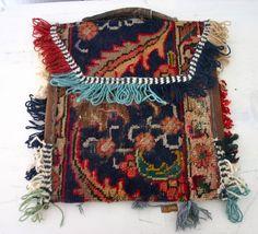 Vintage Kilim Carpet Bag. $75.00