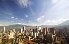 Medallo Mountains In South America, Andes Mountains, San Francisco Skyline, New York Skyline, City, Travel, Colombia, Viajes