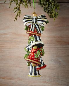 Ringing+Bells+Christmas+Ornament+by+MacKenzie-Childs+at+Horchow.