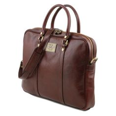 Prato - Tuscany Leather - Exclusive leather laptop case - Bags For Business