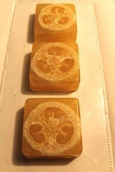 Loufa SoapHoney Almond Scent by NostalgieSoaps on Etsy, $4.50