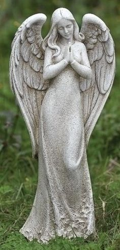 "14.75"" Joseph's Studio Sleek Contempo Praying Angel Outdoor Garden Statue Roman http://www.amazon.com/dp/B00BHIZRUC/ref=cm_sw_r_pi_dp_qxYCub0319G02"