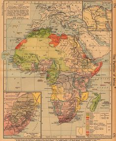 maps of colonial Africa - Alternate History Discussion Board