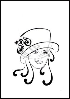 female hats -retro by ELRO66.deviantart.com on @DeviantArt
