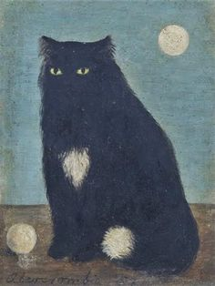 Gertrude Abercrombie: Black Cat, 1957.