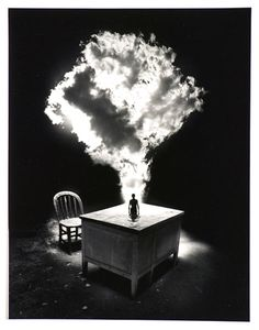 Untitled by Jerry Uelsmann, 1988.
