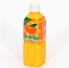 orange juice eraser from Japan by Iwako 1