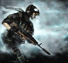 Ghost by =Ninjatic on deviantART