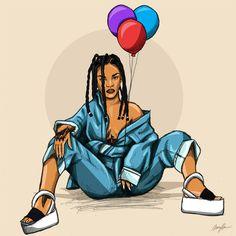 'Birthday BadGal'Rihannavour3. (1 of 4) #Feb20- McFreshCreates