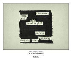 """Poesia """"achada"""" no jornal do dia 24/01 pela poeta Marian Wisnik."""