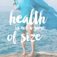 Health is not a game of size - by Anastasia Amour @ www.anastasiaamour.com