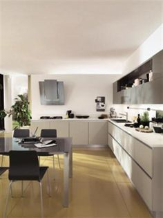Cool Ultra Modern Kitchen By Scavolini | DigsDigs