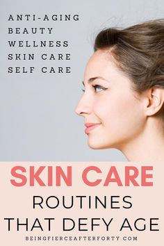 Anti-aging skin care, skin care products, beauty products, beauty routines, self care products, women's health and beauty #skincare #skincareproducts #antiaging
