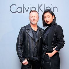 @margaret__zhang and Global Creative Director Kevin Carrigan arrive at the Calvin Klein music event in Shanghai. #mycalvins - Shop now for calvinklein > http://ift.tt/1Ja6lvu