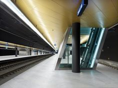 CH Train Station, Armstrong Sufity Podwieszane, ceiling, sufity akustyczne, acoustic