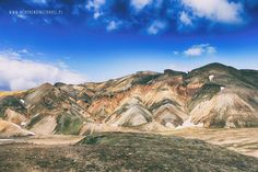 Landmannalaugar tęczowe góry Trekking, Iceland, Grand Canyon, Travel, Viajes, Destinations, Traveling, Hiking, Trips